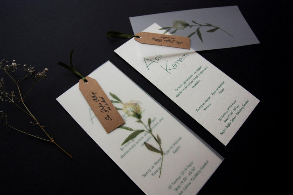 uzun ince düğün davetiyesi